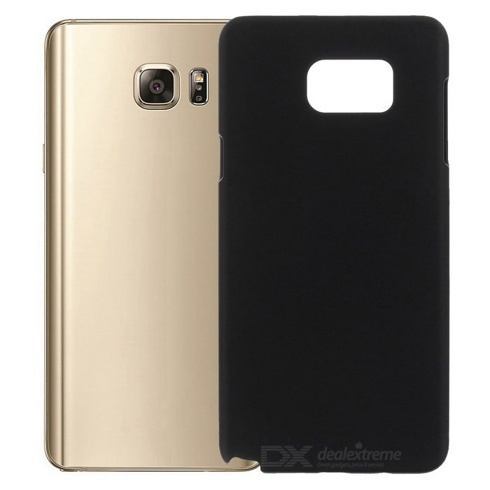 Protective Plastic Back Case for Samsung Note 5 - Black