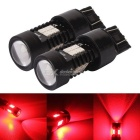 MZ 7443 T20 10.5W 21-2835 SMD Red LED Car Tail Brake Lights 12~24V