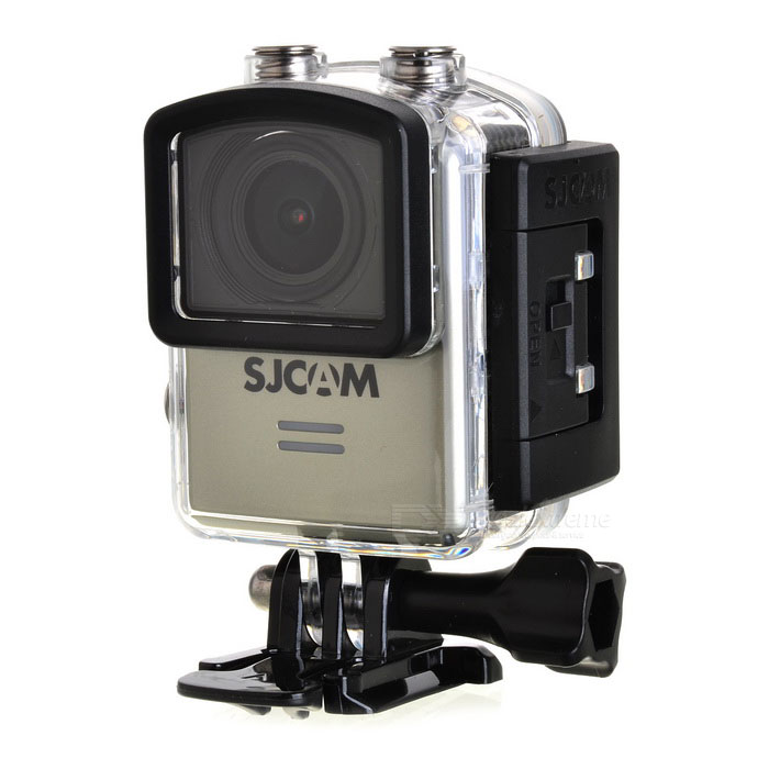 SJCAM M20 2160P 16MP Wi-Fi Remote Sport Camera - SilverSport Cameras<br>Form  ColorSilverModelM20Shade Of ColorSilverMaterialABS plasticsQuantity1 DX.PCM.Model.AttributeModel.UnitImage SensorCMOSImage Sensor Size2/3 inchesAnti-ShakeYesFocal Distance- DX.PCM.Model.AttributeModel.UnitFocusing Range-Optical ZoomNoDigital Zoom8XBuilt-in SpeedliteYesWide Angle166° Adjustable FOVEffective Pixels16MPImagesJPG,Others,RAWStill Image Resolution16M 4608*3456 14M 4320*3240 12M 4032*3024 <br>10M 3648*2736 8M 3264*2448 5M 2592*1944 <br>3M 2048*1536 2MHD 1.3M 1280*960 VGA 640*480VideoMOV,MP4Video Resolution4K 24fps(4K is supported via Interpolation) 2K 30fps<br>1080P 60fps/30fps 720P 120fps/60fps/30fps VGA 240fpsVideo Frame Rate30,60,120,Others,24,240Audio SystemStereoCycle RecordYesISOOthers,Auto,100, 200, 400, 800,1600Exposure CompensationOthers,+2.0, +5/3, +4/3, +1.0, +2/3, +1/3, +0.0, -1/3, -2/3, -1.0, -4/3, -5/3, -2.0White Balance ModeOthers,Auto, Daylight,Cloudy,Tungsten,FluorescentSupports Card TypeTFSupports Max. Capacity32 DX.PCM.Model.AttributeModel.UnitBuilt-in Memory / RAMNoInput InterfaceMicOutput InterfaceMicro USB,Micro HDMILCD ScreenYesScreen TypeOthers,LCDScreen Size1.5 DX.PCM.Model.AttributeModel.UnitScreen Resolution480*240Battery Measured Capacity 900 DX.PCM.Model.AttributeModel.UnitNominal Capacity900 DX.PCM.Model.AttributeModel.UnitBattery TypeLi-polymer batteryBattery included or notYesBattery Quantity1 DX.PCM.Model.AttributeModel.UnitVoltage3.8 DX.PCM.Model.AttributeModel.UnitBattery Charging TimeAbout 3 hoursLow Battery AlertsYesWater ResistantWater Resistant 3 ATM or 30 m. Suitable for everyday use. Splash/rain resistant. Not suitable for showering, bathing, swimming, snorkelling, water related work and fishing.Supported LanguagesEnglish,Simplified Chinese,Traditional Chinese,Russian,Portuguese,Spanish,Italian,Korean,French,Czech,German,Others,Slovakia, Japanese, polish, Hungarian, Danish, Dutch, TurkishPacking List1 * Sports camera (with battery)1 * Waterproof case1 * Backclip1 * 360 degree arc holder1 * 360 degree flat holder2 * Arc/flat base1 * Base2 * 3M adhesive tape1 * Bicycle holder4 * Adapters1 * Fixed base1 * Cleaning cloth1 * Chinese / English manual 1 * USB cable (99cm)<br>