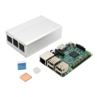 Raspberry Pi 3 Model B + Aluminum Alloy Case w/ Light Pipe