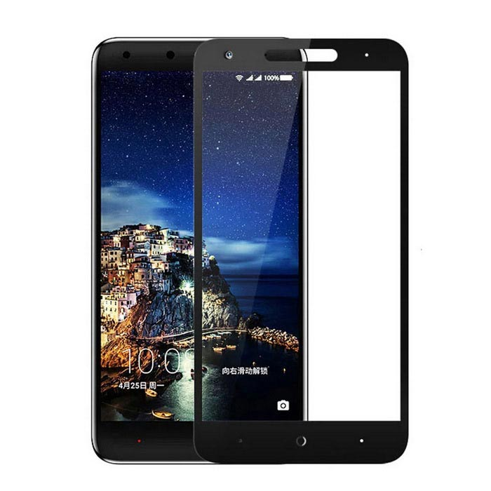 Tempered Glass Screen Protector Film for 360 N4 - Black + Transparent