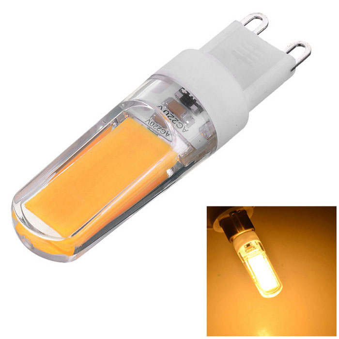Marsing G9 dimmes 3W 270lm COB LED Warm White Light Ceramic Bulb