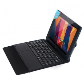 """CUBE iwork10 10.1"""" Quad-Core Dual-OS Ultimate Tablet PC - Dark Blue"""