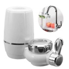 Washable Ceramic Faucets Water Filter - White