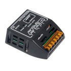 20A 12V/24V Solar Panel Battery Regulator Charge Controller - Black
