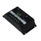 20A Solar Panel Battery Regulator Charge Controller - Black