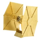 Three-Dimensional Jigsaw Puzzle Assembled Model Aircraft Weapon Brass Educational Toy