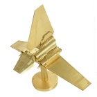 Three-Dimensional Jigsaw Puzzle Assembled Model Brass Educational Toy
