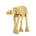 DIY Stereoscopic 3D Puzzle Brass AT-AT All-terrain Armored Vehicles Assembled Model Educational Toy