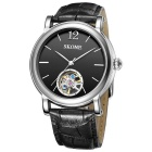 SKONE 394701 Men's Automatic Mechanical Wrist Watch - Black