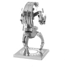 DIY 3D Puzzle Model Assembled Educational Toy Destroyer - Silver