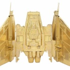 DIY 3D Puzzle Flagship Model Assembled Educational Toy - Golden