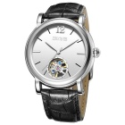 SKONE 394702 Men's Automatic Mechanical Wrist Watch - Black + White