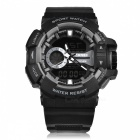 SKMEI 1117 50m Waterproof Multifunction Sports Watch - Gray