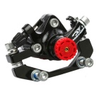 ROBESBON Mountain Bike Disc Brake ( F180 R160) - Black + Silver
