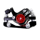 ROBESBON Mountain Bike Disc Brake (F160 R140) - Black + Silver
