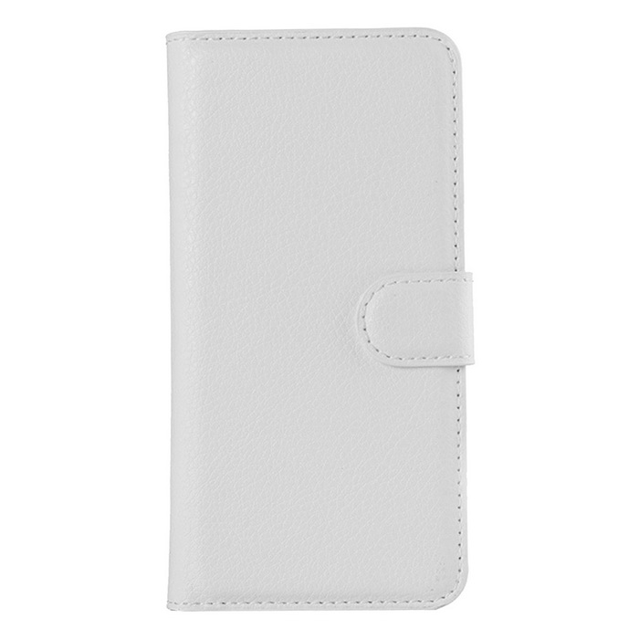 Lichee Pattern Protective Case for Sony Xperia Z1 - White