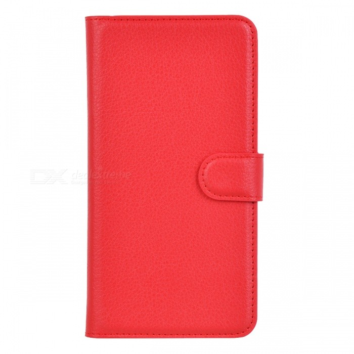 Lichee Pattern Protective Case for Sony Xperia T3 - Red