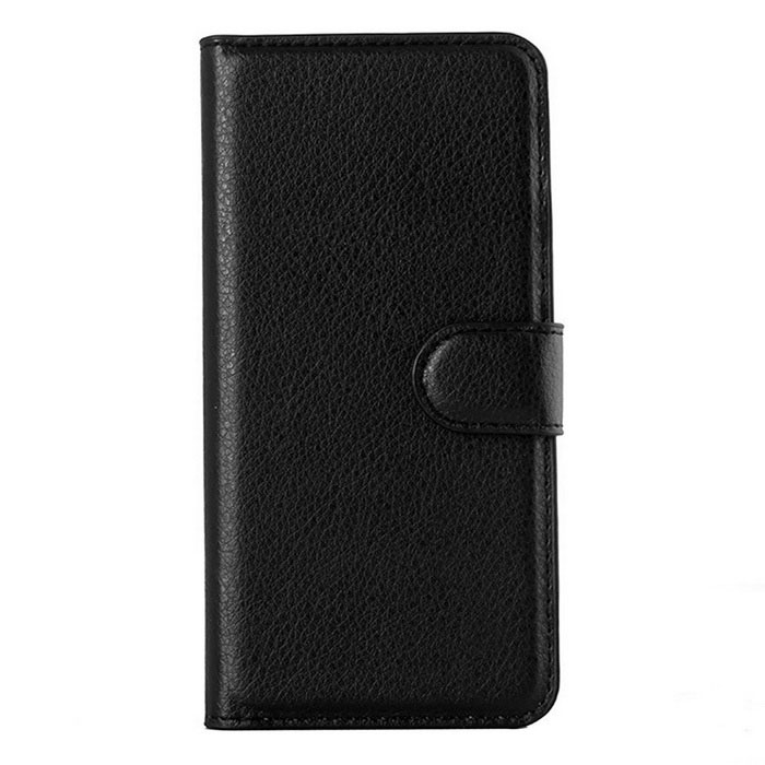 Lichee Pattern Protective Case for Sony Xperia T3 - Black