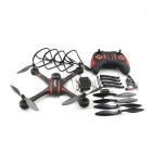 JJRC H11WH RC quadcopter WIFI cámara FPV / 2MP /2.4G 4CH 6Axis - negro