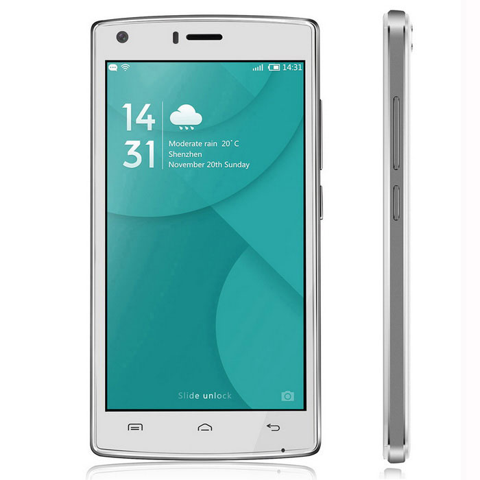 "DOOGEE X5 MAX Pro 5.0"" Android 6.0 4G Phone w/ 2GB RAM 16GB ROM -White"