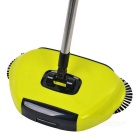 Home Use Dual Brush Automatic Hand-Push Floor Sweeper - Zelená + Black