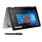 "VOYO VBook V1 10.1"" Quad-Core Dual-OS Ultrabook Tablet PC - Silver"