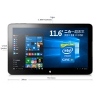 "Onda V116W Core-M 11.6 ""Win10 3G Tablet w / 4GB RAM, 128GB SSD, Keyboard"