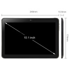 "Pipo P9 10.1 ""Quad-Core Android 3G Tablet PC w / 2 Go + 32 Go - Noir"