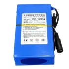 DC 1298A 9800mAh Super Rechargeable Polymer Lithium-ion Battery - Blue