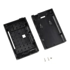 Protective ABS Case w/ Camera Hole for Raspberry Pi 2 Model B - Black
