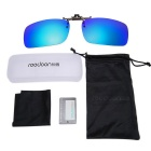 ReeDoon 2201 Polarized Sunglasses Glasses Clip Lens - Blue + Black