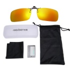ReeDoon 2201 Polarized Sunglasses Glasses Clip Lens - Orange + Black