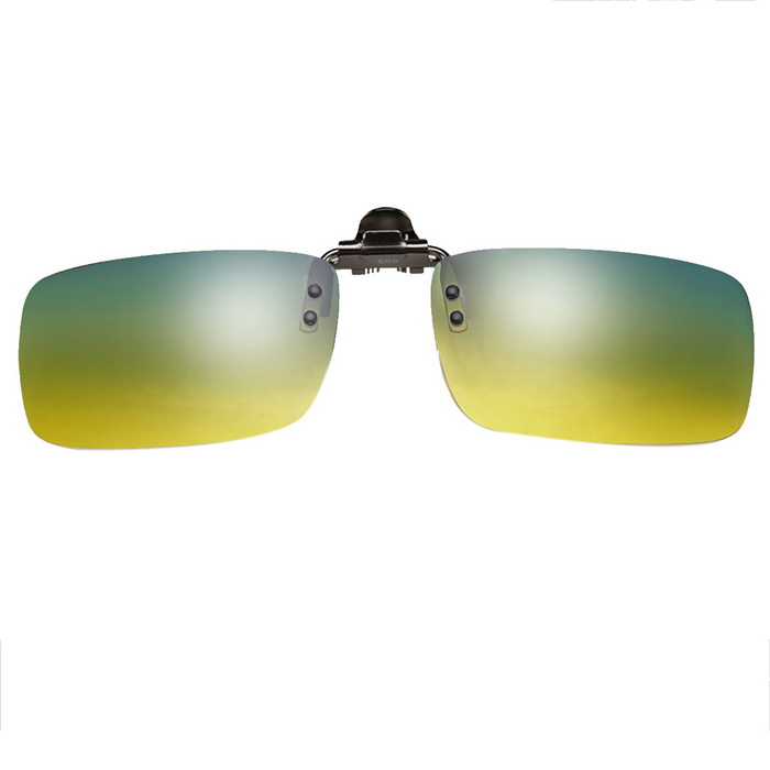 ReeDoon 2201 Polarized Sunglasses Glasses Clip Lens - Yellow + Green