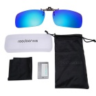 ReeDoon 2201 Polarized Sunglasses Clip Lens - Cool Blue + Black