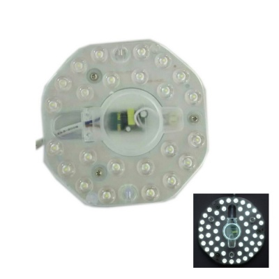 12W 1200lm 24-SMD 2835 Cold White Light Source for Ceiling Lamp
