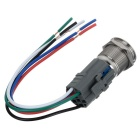 Jtron Automobile Button Switch OFF-ON  + Switch Wiring Base (12V)