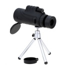12x52mm Telescopio Monocular Bak4 Óptica Mono Spotting Scope - Negro