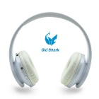 OldShark Bluetooth V4.0 Over-Ear-Headset für das iPhone, Samsung - Weiss