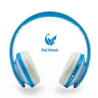 OldShark Bluetooth V4.0 Over-Ear-Headset für das iPhone, Samsung - Blau