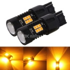 MZ 7440 T20 10.5W Intermitentes 21-2835 SMD LED ámbar luces del coche 12 ~ 24V