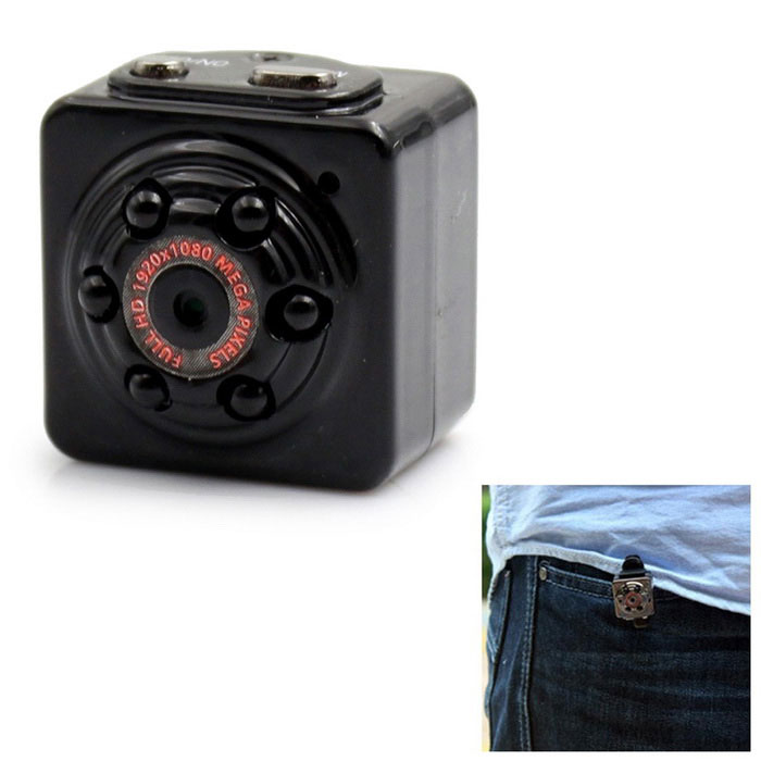Mini SQ9 1080P Full HD 12.0MP CMOS Digital Sport DV Cam Video CameraDigital Cameras<br>Form  ColorBlackModelSQ9Shade Of ColorBlackMaterialPlasticQuantity1 DX.PCM.Model.AttributeModel.UnitImage SensorCMOSImage Sensor Size1/2.7 inchesAnti-ShakeYesFocal Distance2 DX.PCM.Model.AttributeModel.UnitFocusing RangeNoOptical ZoomNoDigital ZoomOthers,NoBuilt-in SpeedliteNoEffective Pixels12.0MPPicture FormatsOthers,JPGStill Image Resolution4032 * 3024Video FormatAVIVideo Resolution1920*1080 30fps, 1280*720 30fpsAudio SystemMonophonyVideo Frame Rate30ISONoExposure CompensationOthers,AutoWhite Balance ModeAutoScene ModeAutoSupports Card TypeTFMax. Capacity32GBBuilt-in Memory / RAMNoInput InterfaceOthers,NOOutput InterfaceOthers,Mini 8Pin USBBattery Measured Capacity 200 DX.PCM.Model.AttributeModel.UnitNominal Capacity200 DX.PCM.Model.AttributeModel.UnitBattery TypeLi-polymer batteryBattery Charging Time2-3 hoursVoltageDC 5 DX.PCM.Model.AttributeModel.UnitBattery included or notYesBattery Quantity1 DX.PCM.Model.AttributeModel.UnitLow Battery AlertsYesWaterproofNoCertificationCEPacking List1 * Mini DV1 * USB Cable(83cm)1 * Stand1 * Hang Rope1 * Chinese English Manual<br>