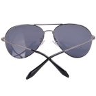ReeDoon 2533 Multi-Face Fitted Polarized Sunglasses - Gun Color + Grey