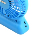 Tragbare Multifunktionale Lithium-Batterie-Ventilator w / LED-Licht - Blau