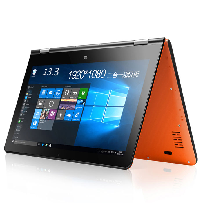 "VOYO VBook V3 13.3"" Dual-Core Win10 Ultrabook 4GB+64GB - Orange (4G)"
