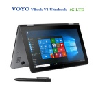 "Voyo VBook V1 10.1"" Quad-Core Win10 Tablet PC w/ 4GB+64GB - Grey (4G)"