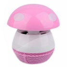 SD-520 2.5W 5V / 50Hz Mosquito Lamp w/ 94cm USB Cable - White + Pink