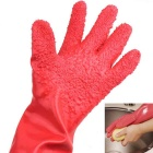 Anti-skid Potatoes Fruit Peeling PVC Gloves (Random color)