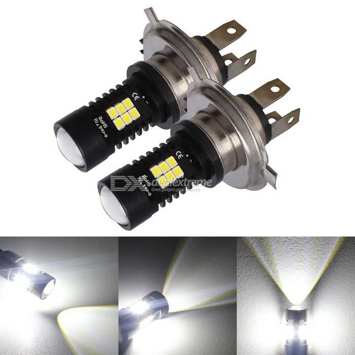 MZ H4 10.5W 21-2835smd Cold White LED Car High / Low Headlights 12~24V