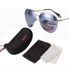 ReeDoon 2533 Multi-Face Fitted Polarized Sunglasses - Silver
